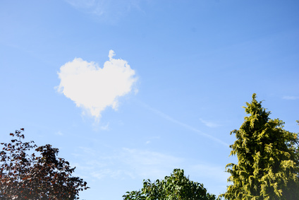 Herz Wolken